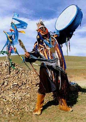 Byambadorj, a mongolian shaman